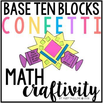 Base Ten Blocks Math Craft