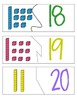 Base Ten Blocks Puzzle 0-20