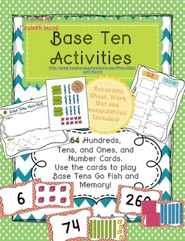 Base Ten Math Activity Pack