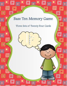 Base Ten Memory Game