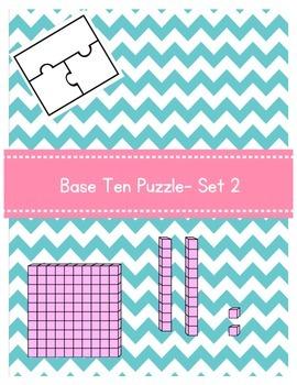 Base Ten Puzzle- Set 2