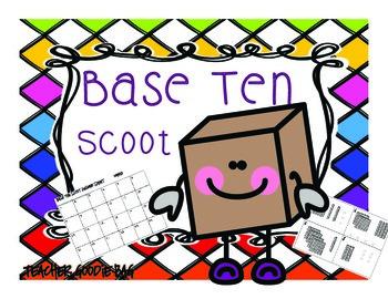 Base Ten Scoot {Task Cards}