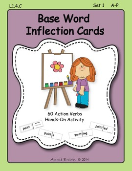 Base Word - Inflection Cards