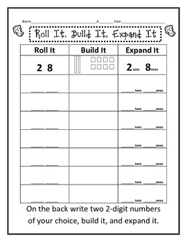 Base Ten Addition Worksheets - humorholics