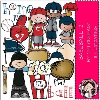 Melonheadz: Baseball clip art Part 2