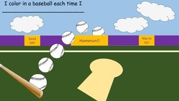 Baseball Behavior Chart/Classroom Management