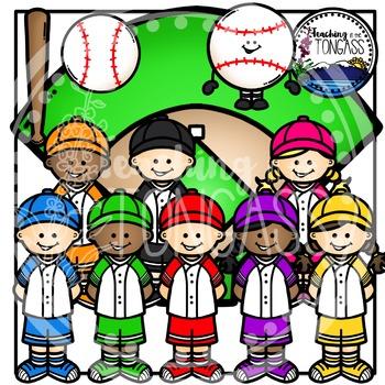 Baseball Clipart Bundle