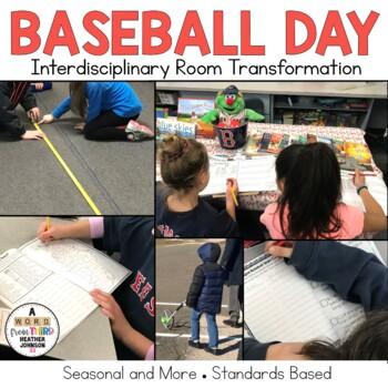 Baseball Day Bundle, Hands on, Math, Social Studies, Opini
