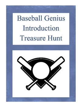 Baseball Genius Treasure Hunt