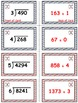 Baseball (Homerun Derby) Game Cards (Division of Whole Num