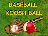 Baseball Koosh Ball Game (SMARTBoard)