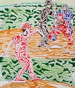 Baseball Maze (color version)