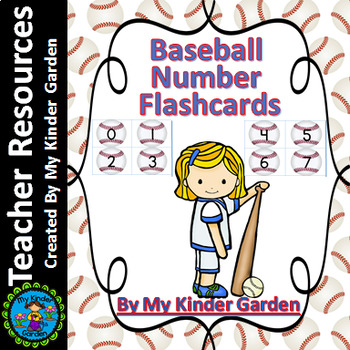 Baseball Number Flashcards 0-100