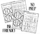 Baseball Quick NO PREP Language Pack
