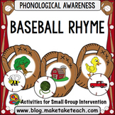 Rhyme - Baseball Rhyme