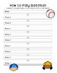 Baseball Sequence Map on How to Play Baseball