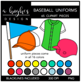 Baseball Uniforms {Graphics for Commercial Use}