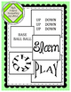 Brain Boxes Theme 1-5: Baseball Visual Word Puzzles