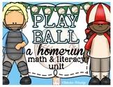 Baseball Unit- Common Core Aligned