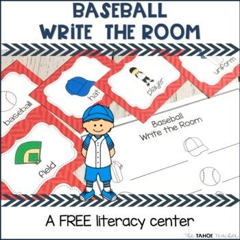 Baseball Write the Room