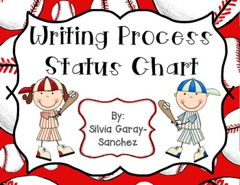 Baseball Writing Process Status Chart