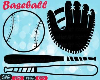 Baseball sport SVG Mascot cutting files clipart t-shirt mo