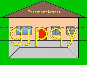 Basement Letters - Palabras del Sótano