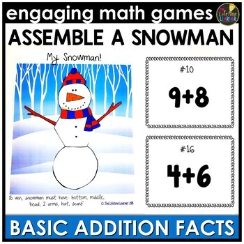 Basic Addition Facts Game