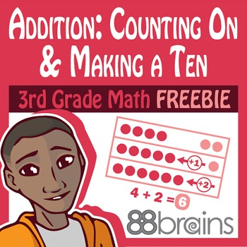 Basic Addition FREEBIE: Counting On and Making a Ten Pgs. 1 & 2