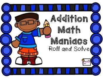 Basic Addition Roll and Solve