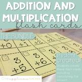 Basic Addition and Multiplication Flash Cards (0-9)