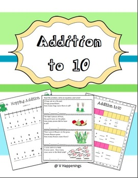 Addition Activity Pack - Basic Addition to 10 - Common Cor