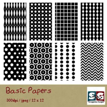 Basic BW Paper Pack