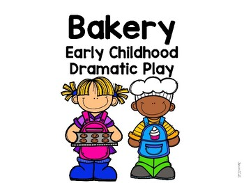 Basic Bakery Dramatic Play Props