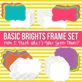 Basic Brights Digital Frames