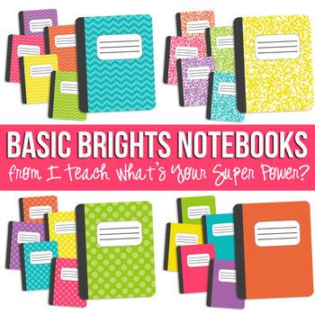 Basic Brights Notebook Set