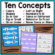 Basic Concepts File Folders: October (adapted with 2 levels)