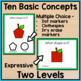 Basic Concepts Task Cards: September (Autism and Special E