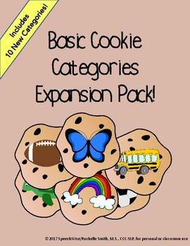 Basic Cookie Categories Expansion Pack: Teach Categorizati