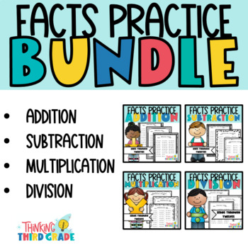 Basic Facts Practice Worksheets - Addition and Subtraction