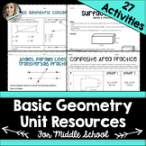 Geometry Unit Resources