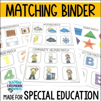 SPED Basic Matching Skills