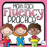 Math Fact Fluency Practice
