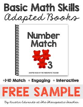 Basic Math Skills: Adapted Books FREE SAMPLE
