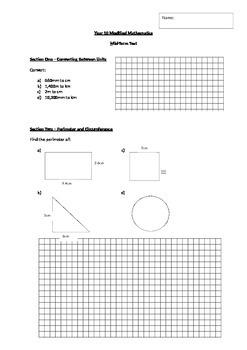 Basic Measurement Test
