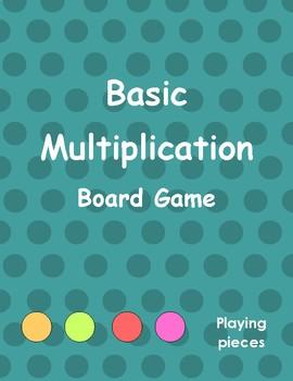 Basic Multiplication Board Game