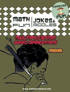 Basic Math - Multiplication Joke Worksheet