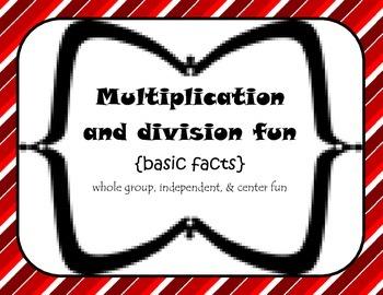 3rd grade basic Multiplication/Division {independent, cent