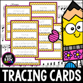 31 Musical Term Handwriting Practice Tracing Cards with De