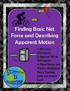 Basic Net Force and Describing Apparent Motion
